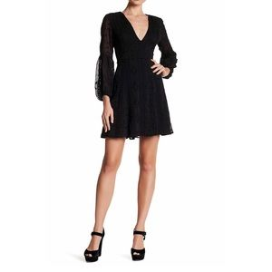 ASTR The Label Fit-and-Flare Dress